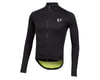 Image 1 for Pearl Izumi PRO Pursuit Long Sleeve Wind Jersey (Black/Screaming Yellow)