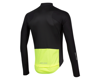 Image 2 for Pearl Izumi PRO Pursuit Long Sleeve Wind Jersey (Black/Screaming Yellow)