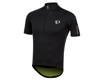 Image 1 for Pearl Izumi PRO Pursuit Wind Short Sleeve Jersey (Black/Screaming Yellow) (M)