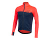 Image 1 for Pearl Izumi Interval Thermal Long Sleeve Jersey (Atomic Red/Navy)