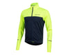 Pearl Izumi Quest Thermal Long Sleeve Jersey (Screaming Yellow/Navy) (M)