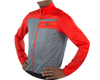 Image 4 for Pearl Izumi Elite Escape Barrier Jacket (Torch Red/Smoke Pearl)