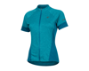 Image 1 for Pearl Izumi Women's Select Escape Short Sleeve Jersey (Teal/Breeze)