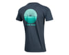 Image 2 for Pearl Izumi Organic Cotton T-Shirt (Sunset Wheel Navy)