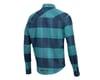 Image 2 for Pearl Izumi Rove Long Sleeve Shirt (Navy/Hydro Plaid)
