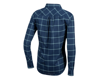 Image 2 for Pearl Izumi Women's Rove Long Sleeve Shirt (Navy/Aquifer Plaid) (L)