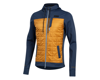 Image 1 for Pearl Izumi Versa Quilted Hoodie (Navy/Berm Brown)