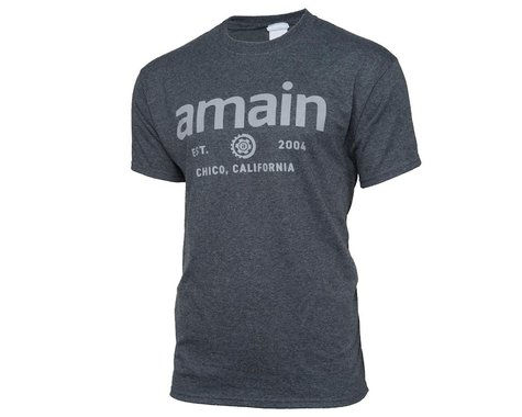 AMain Short Sleeve T-Shirt (Dark Heather)