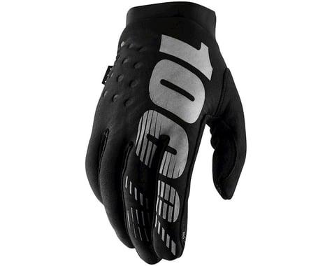 100% Brisker Gloves (Black) (XL)