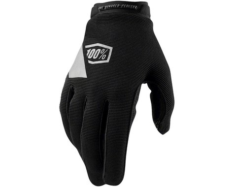 100% Ridecamp Youth Glove (Black) (Youth S)