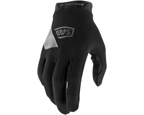 100% Ridecamp Men's Full Finger Glove (Black/Blue) (S)