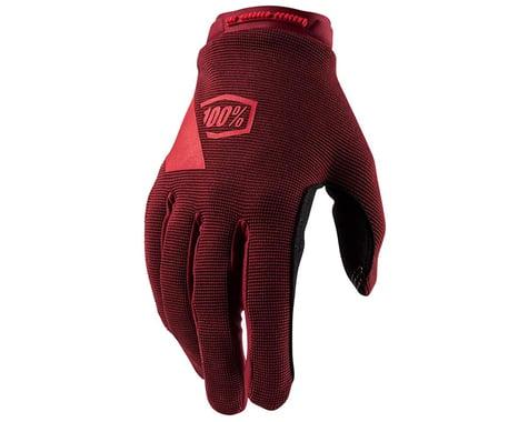 100% Ridecamp Women's Full Finger Glove (Brick) (S)