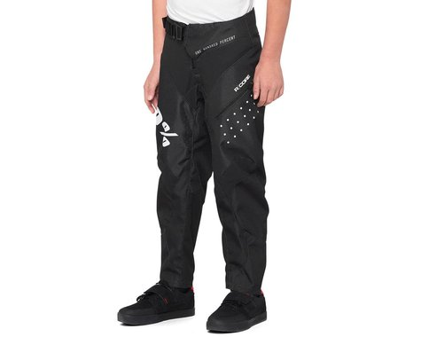 100% R-Core Youth Pants (Black) (Youth S)