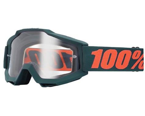 100% ACCURI Goggles (Matte Gunmetal) (Clear Lens)