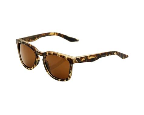 100% Hudson Sunglasses (Soft Tact Havana) (Bronze Lens)