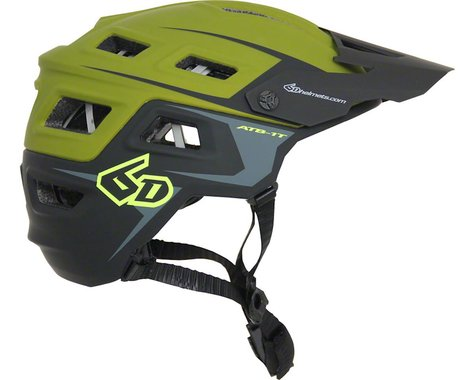6D Helmets 6D ATB-1T Evo Trail Helmet (Army Green/Black)