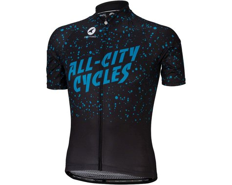 All-City Electric Boogaloo Men's Jersey (Black/Blue)
