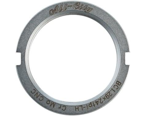 All-City Track Lockring (Silver) (Chromoly)