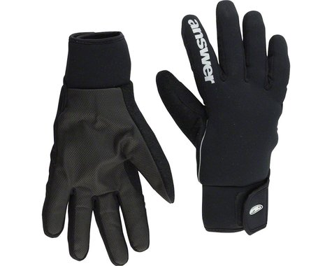 Answer Strike Two Full Finger Cold Weather Glove: Black XL