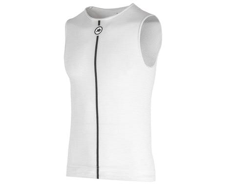 Assos Summer Sleeveless Skin Layer (Holy White) (XS/S)