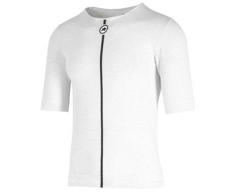 Assos Summer Short Sleeve Skin Layer (Holy White) (XS/S)