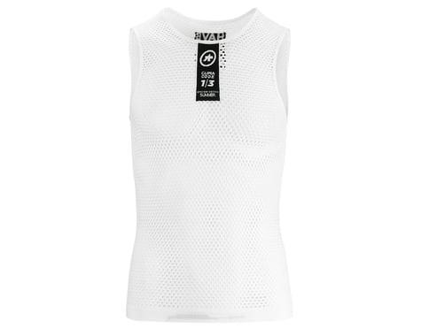 Assos Skinfoil Sleeveless Summer Base Layer (Holy White)