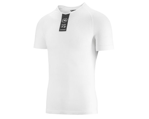 Assos Skinfoil Short Sleeve Summer Base Layer (Holy White)