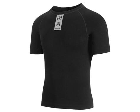 Assos Skinfoil Spring/Fall Short Sleeve Base Layer (Black Series)