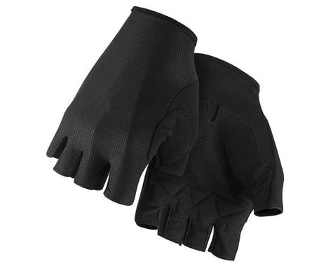 Assos RS Aero Short Finger Gloves (Black Series) (M)