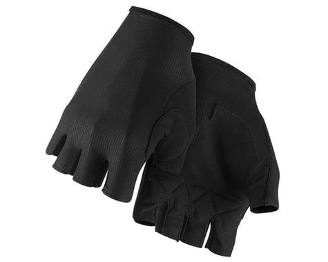Assos RS Aero Short Finger Gloves (Black Series) (XS)