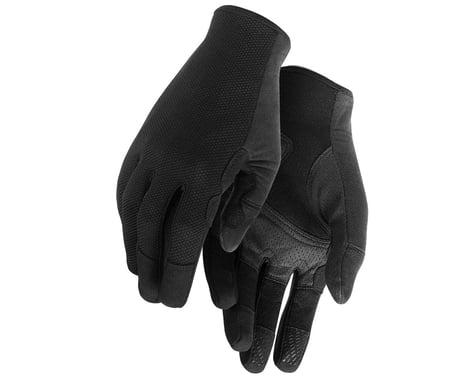 Assos Trail Long Finger Gloves (Black Series) (S)