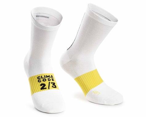 Assos Assosoires Spring/Fall Socks (Holy White) (L)