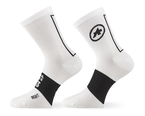 Assos Assosoires Summer Socks (Holy White) (L)
