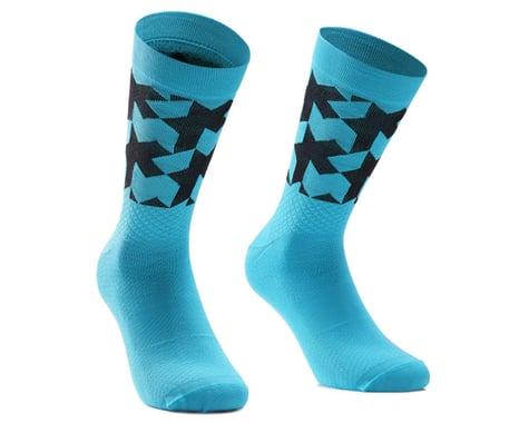 Assos Monogram Socks EVO (Hydro Blue) (L)