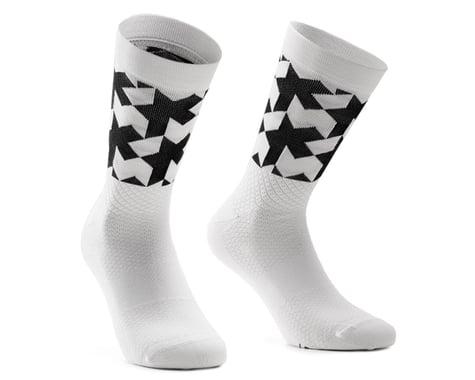 Assos Monogram Socks EVO (Holy White) (M)