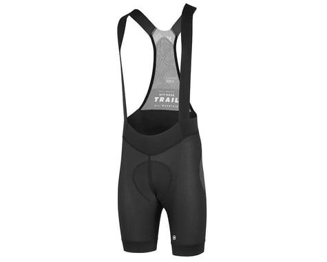 Assos Men's Trail Liner Bib Shorts (Black Series)