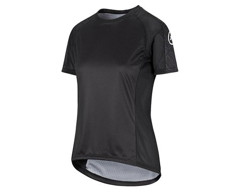 Assos Women's Trail Short Sleeve Jersey (Black Series) (L)