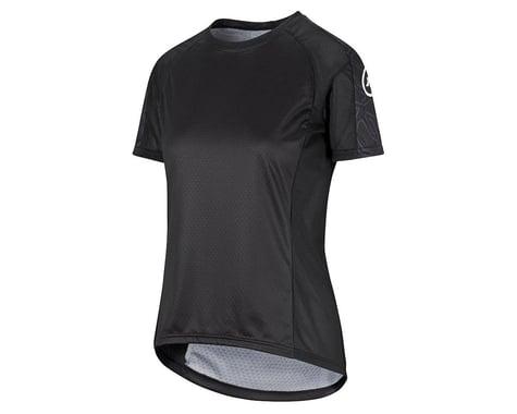 Assos Women's Trail Short Sleeve Jersey (Black Series) (S)