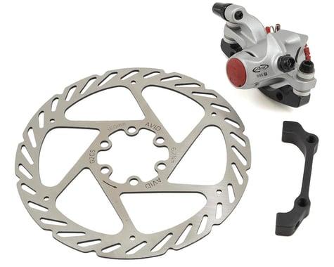 Avid BB5 Road Disc Brake Caliper (Silver) (Mechanical) (w/ 160mm G2 Rotor) (Front or Rear)