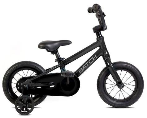 """Batch Bicycles 12"""" Kids Bike (Matte Pitch Black)"""
