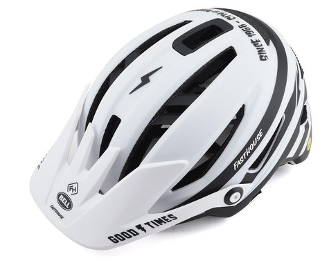 Bell Sixer MIPS Mountain Bike Helmet (Stripes Matte White/Black) (S)