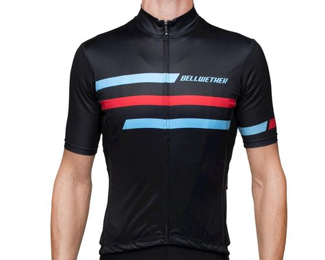 Bellwether Edge Cycling Jersey (Black/Blue/Red) (S)