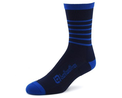 Bellwether Blitz Sock (Navy/Cyan)