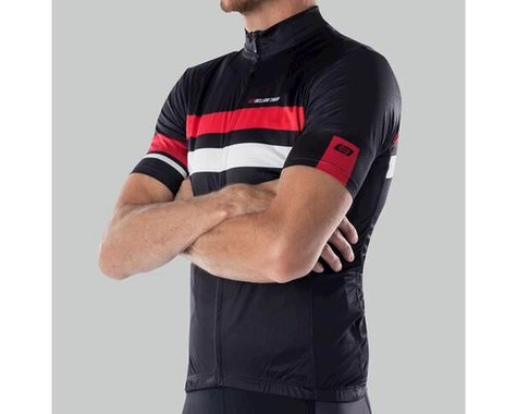 Bellwether Edge Cycling Jersey (Black/Red/White) (S)