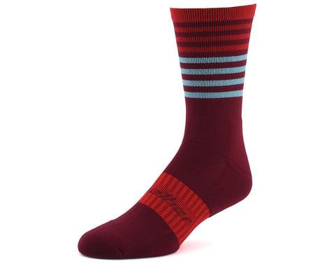 Bellwether Fusion Sock (Burgundy/Ferrari/Ice) (S/M)