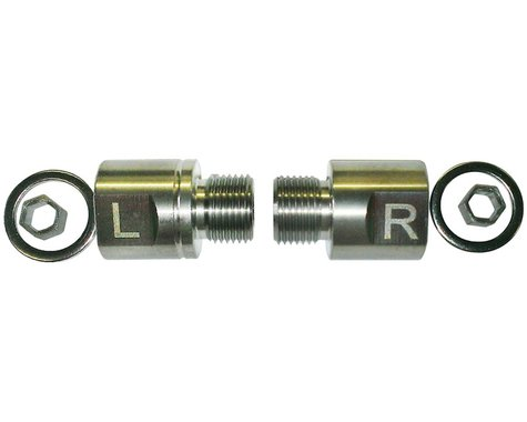 BikeFit 20mm Pedal Spacers (Pair) (For Pedals w/o Wrench Flats)