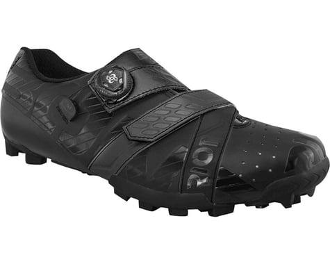 Bont Riot MTB+ BOA Cycling Shoe (Black) (43 Wide)