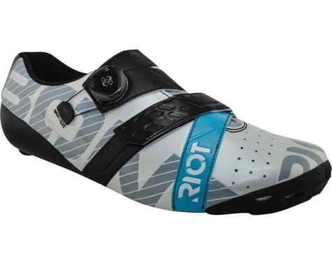 Bont Riot Road+ BOA Cycling Shoe (Pearl White/Black) (44)