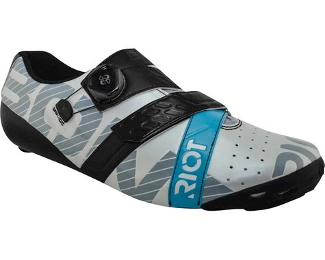 Bont Riot Road+ BOA Cycling Shoe (Pearl White/Black) (47)
