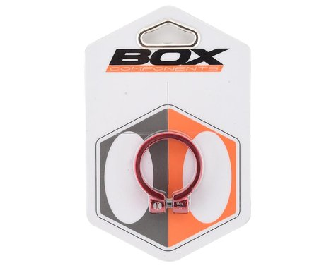 Box Helix Fixed Seat Clamp (Red) (34.9mm)
